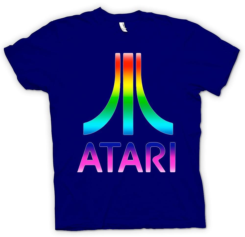 Mens t-shirt-Atari gioco divertente retrò