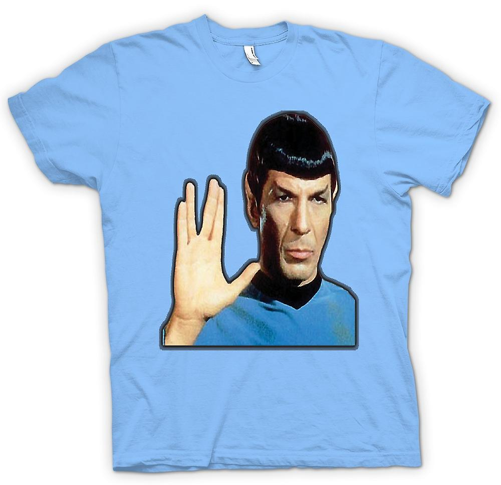 Heren T-shirt - Mijnheer Spock - Star Trek
