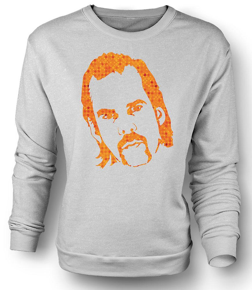 Mens Sweatshirt Nick Cave Portrait