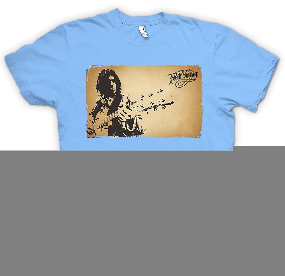 Herr T-shirt - Neil Young - Rock Legend