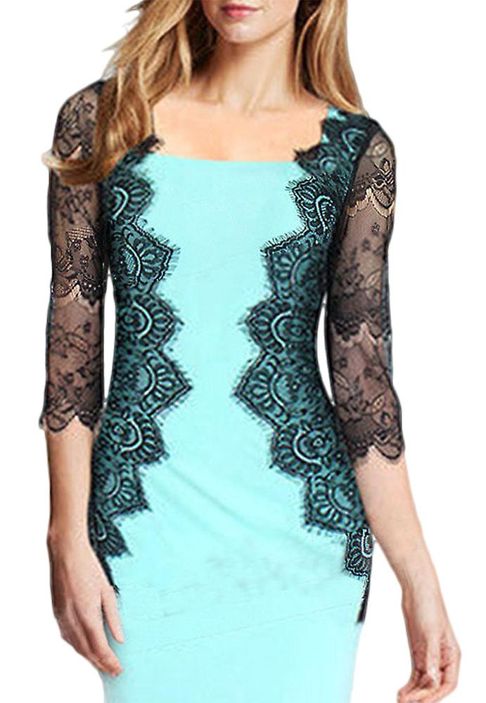 Waooh - Short dress with lace sleeves Eoll