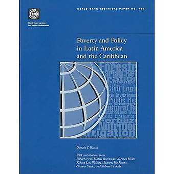 Poverty & Policy in Latin America & the Caribbe (World Bank Technical Papers)