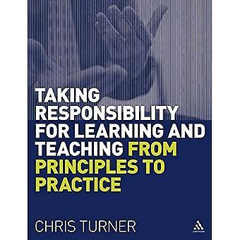 Verantwoordelijkheid voor het leren en onderwijzen