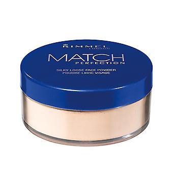 Rimmel Match pó solto perfeição sedosa 001 transparente