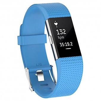 Sports armband For Fitbit Charge 2-light blue