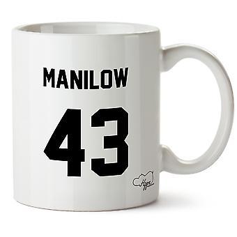 Hippowarehouse Manilow 43 (Printed On The Back) 10oz Mug Cup