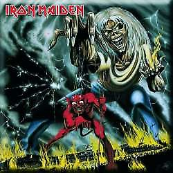 Iron Maiden Number Of The Beast steel fridge magnet  (ro)