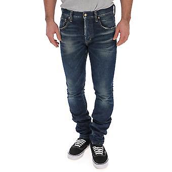 Alanui blå bomuld Jeans