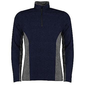 Rhino Mens Jupiter 1/4 Zip Contrast Performance Top
