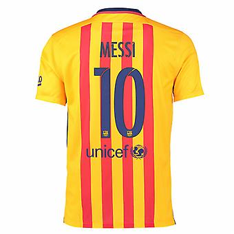 2015-16 Barcelone maillot (Messi 10) - Kids