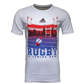 2015-2016 Adidas Rugby London Logo T-Shirt (White)