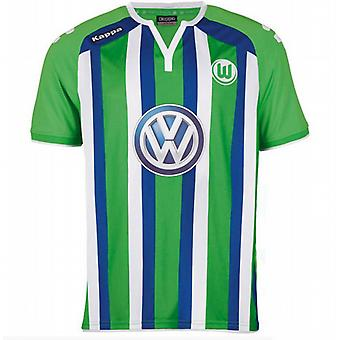 2015-2016 VFL Wolfsburg Kappa Away Shirt