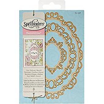 Spellbinders Nestabilities Label 33 Decorative Elements Dies (S5-298)