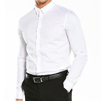 كالفن كلاين جينز طويلة ويلبرت الأكمام القميص