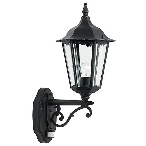 Endon YG-3004 Traditional Black Outdoor 6-Sided Up Wall Security Lantern