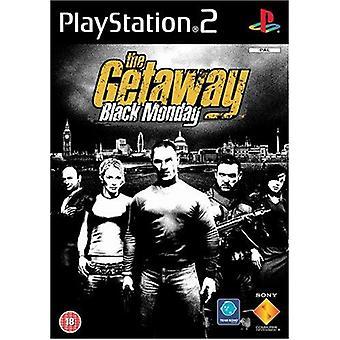 The Getaway Black Monday PS2 Game (Foreign Language Box Multi & English InGame)
