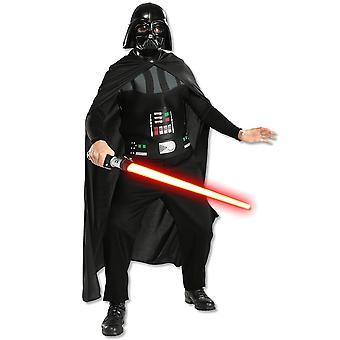 Darth Vader Star Wars película clásica licencia hombres adultos traje STD
