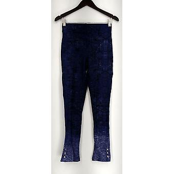 Options amincissante pour Kate et Mallory Leggings Ankle Snap Pull On Blue A434323