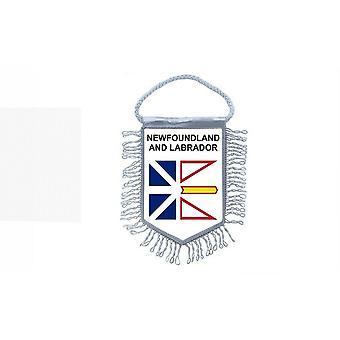 Fanion Mini Drapeau Pays Voiture  Etats Region Canada Terres Neuves Et Labrador
