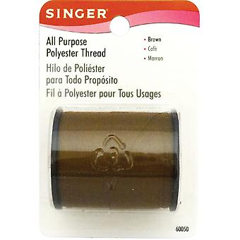 All Purpose Polyester Thread 150 Yards Brown 60000 60050