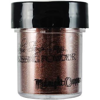 Lindy's Stamp Gang 2 Tone Embossing Powder .5Oz Jars Midnight Copper Obsidian Lsg Ep 2