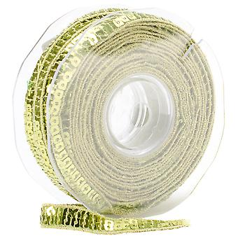 Square Sequin Trim 10Mm X 15.95 Yards Lime Green 16 10 9801