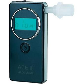 Breathalyser ACE ACE III Basic Alcohol level reading range (max.)=5 ‰ Incl. display