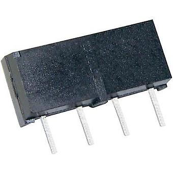 Reed relay 1 maker 5 Vdc 0.5 A 10 W SIP 4
