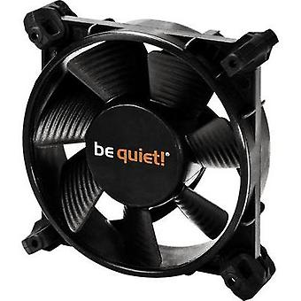 PC fan BeQuiet BL028 Black (W x H x D) 80 x 80 x 25 mm