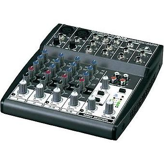 Mixing console Behringer Xenyx 802 No. of channels:6