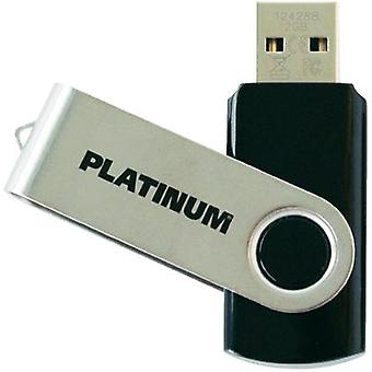 USB stick 2 GB Platinum TWS Black 177558 USB 2.0