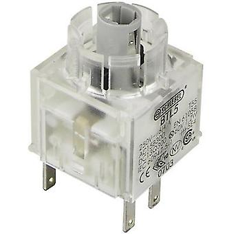 Contact + bulb holder 1 breaker, 1 maker momentary 250 V Schlegel BTL5 1 pc(s)