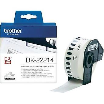 Brother Labels (roll) 12 mm x 30.48 m Paper White
