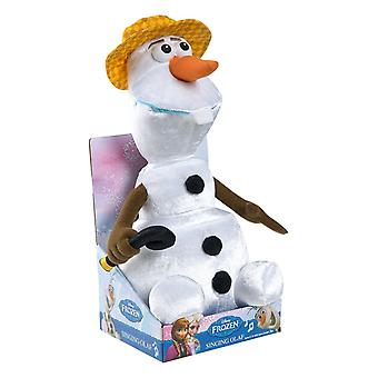 Disney Frozen Sing and Swing Olaf with Hat for Christmas Gifts