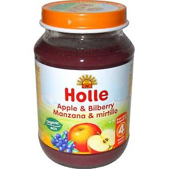 Holle Apple Cranberry jars + Eco 1 (Childhood , Healthy diet , Pots)