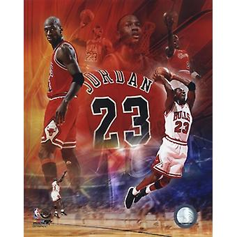 Michael Jordan 2011 Legends Composite Sports Photo