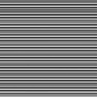 BW Stripes Poster Print by Linda Woods