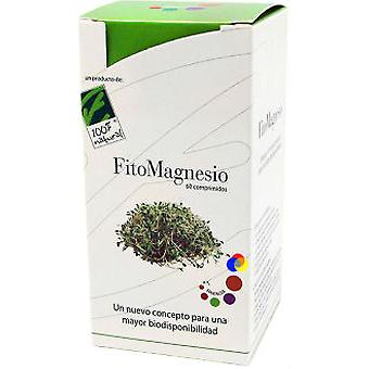 100% Natural Fito Magnesium Synergy 60 Tablets