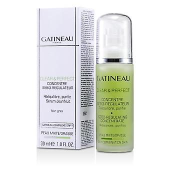 Gatineau Clear & Perfect Sebo-Reguleren Concentrate (voor de vette / gecombineerde huid) 30ml / 1oz