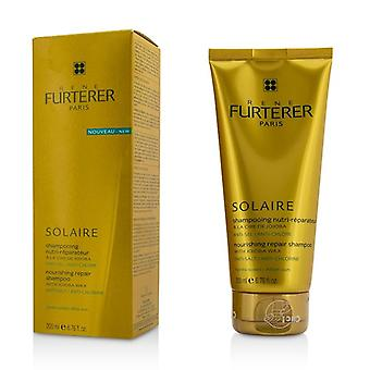 Rene Furterer Solaire Nourishing Repair Shampoo with Jojoba Wax - After Sun 200ml/6.76oz