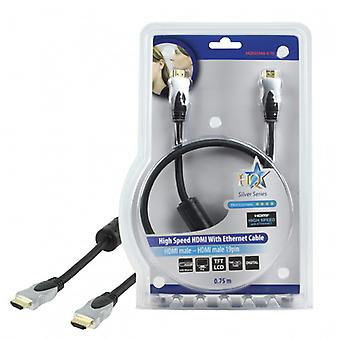 HQ High quality High Speed HDMI cable with ethernet 0.75 m