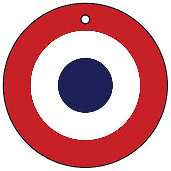 French Air Force Roundel Car Air Freshener