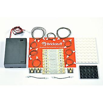 Brickstuff Warm White LED Light Strip Starter Kit for LEGO® Models (TREE01)