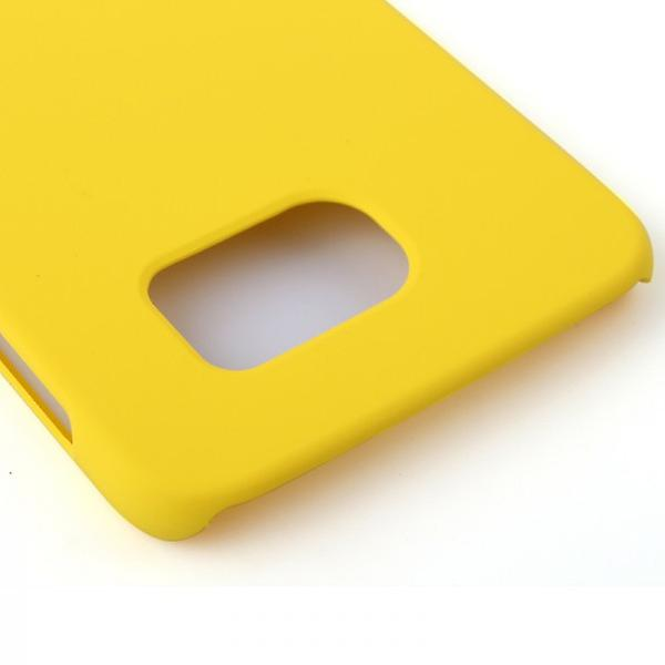 Hard case rubber yellow sleeve for Samsung Galaxy S6 G920 G920F