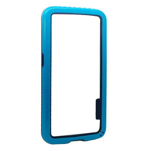 Hybrid bumper light blue for Samsung Galaxy S6 G920 G920F