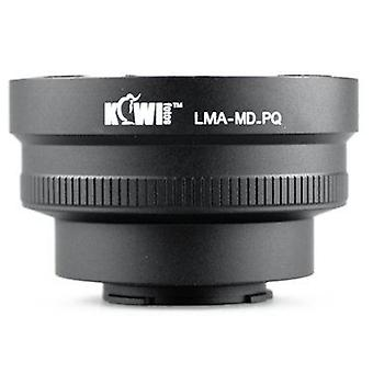 Kiwifotos Lens Mount Adapter: Allows Minolta MC/MD Mount Lenses to be used on the Pentax Q, Q10