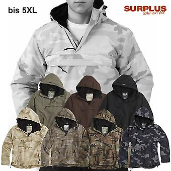 Surplus jacket windbreaker