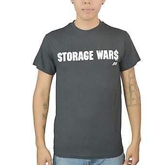 Opbevaring Wars Logo mænds sort T-shirt
