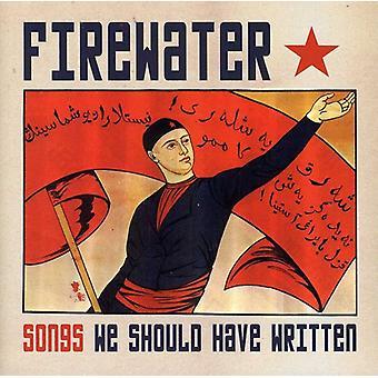 Aguardiente - importación USA canciones que debería haber escrito [CD]