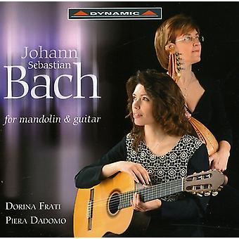 J.S. Bach - Bach para la importación de los E.e.u.u. de mandolina y guitarra [CD]